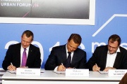 SKOLKOVO Business School, Moscow Transport Department and TomTom Signed the Cooperation Agreement