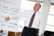 Пол Турман, Профессор Columbia University и приглашенный Профессор СКОЛКОВО, провел программу обучения «Эффективное управление в условиях изменений и кризиса»