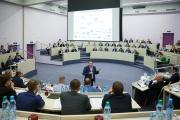 Проектная сессия «Цифровая трансформация: вызовы и возможности» состоялась в бизнес-школе СКОЛКОВО