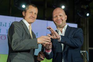 СКОЛКОВО: «КоммерсантЪ» и Ассоциация менеджеров назвали Андрея Шаронова идейным лидером 2015 года в сфере образования (фотография портала finbuzz.ru)