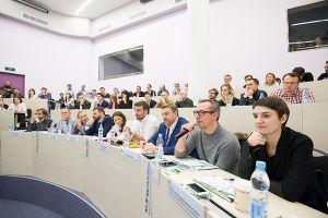 СКОЛКОВО: Выпускной Сартап Академии-8 в формате Road-show для инвесторов прошел в бизнес-школе СКОЛКОВО