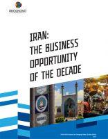 SKOLKOVO: The Moscow School of Management SKOLKOVO Studies Business Opportunities of Iran
