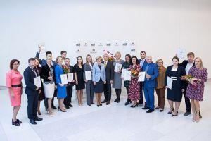 СКОЛКОВО: Ольга Голодец и Андрей Шаронов  вручили премию SKOLKOVO Trend Award 2018